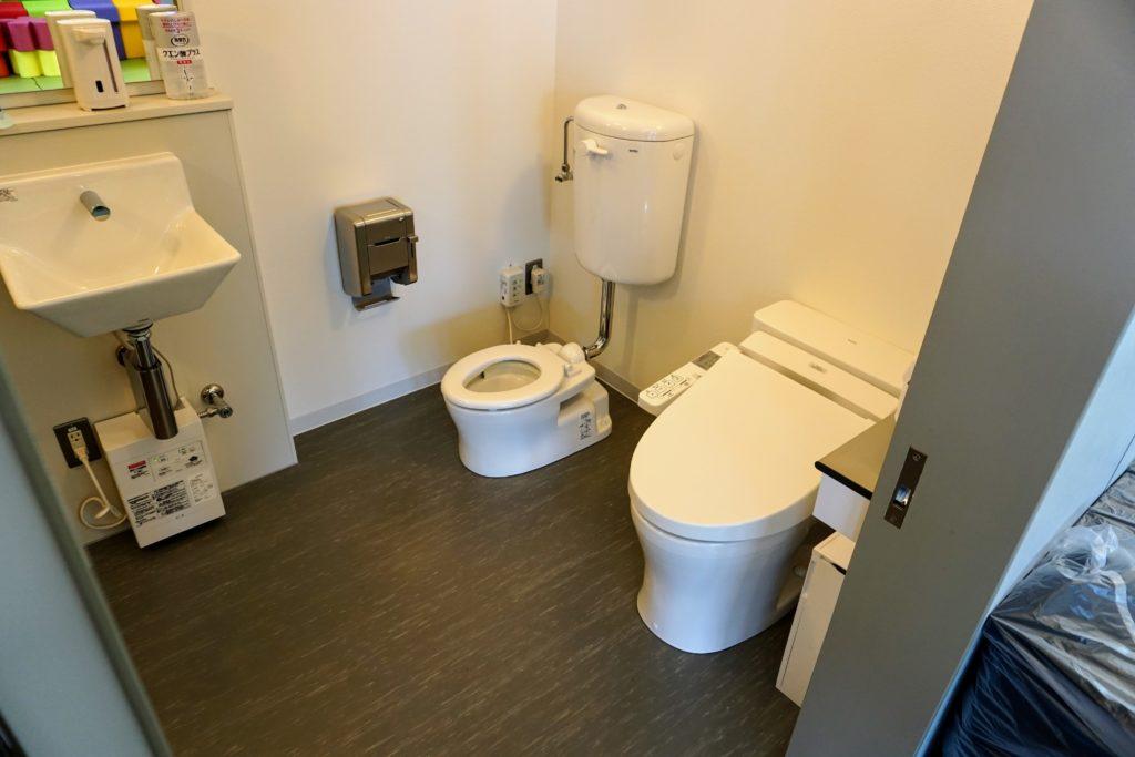 まちなか交流センター「くるる」 子供用トイレ