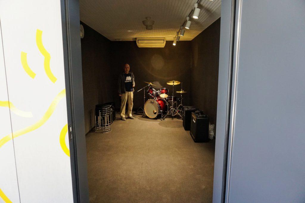 まちなか交流センター「くるる」 音楽室