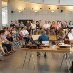 リコーダー、オーボエ、チェンバロの演奏とお話